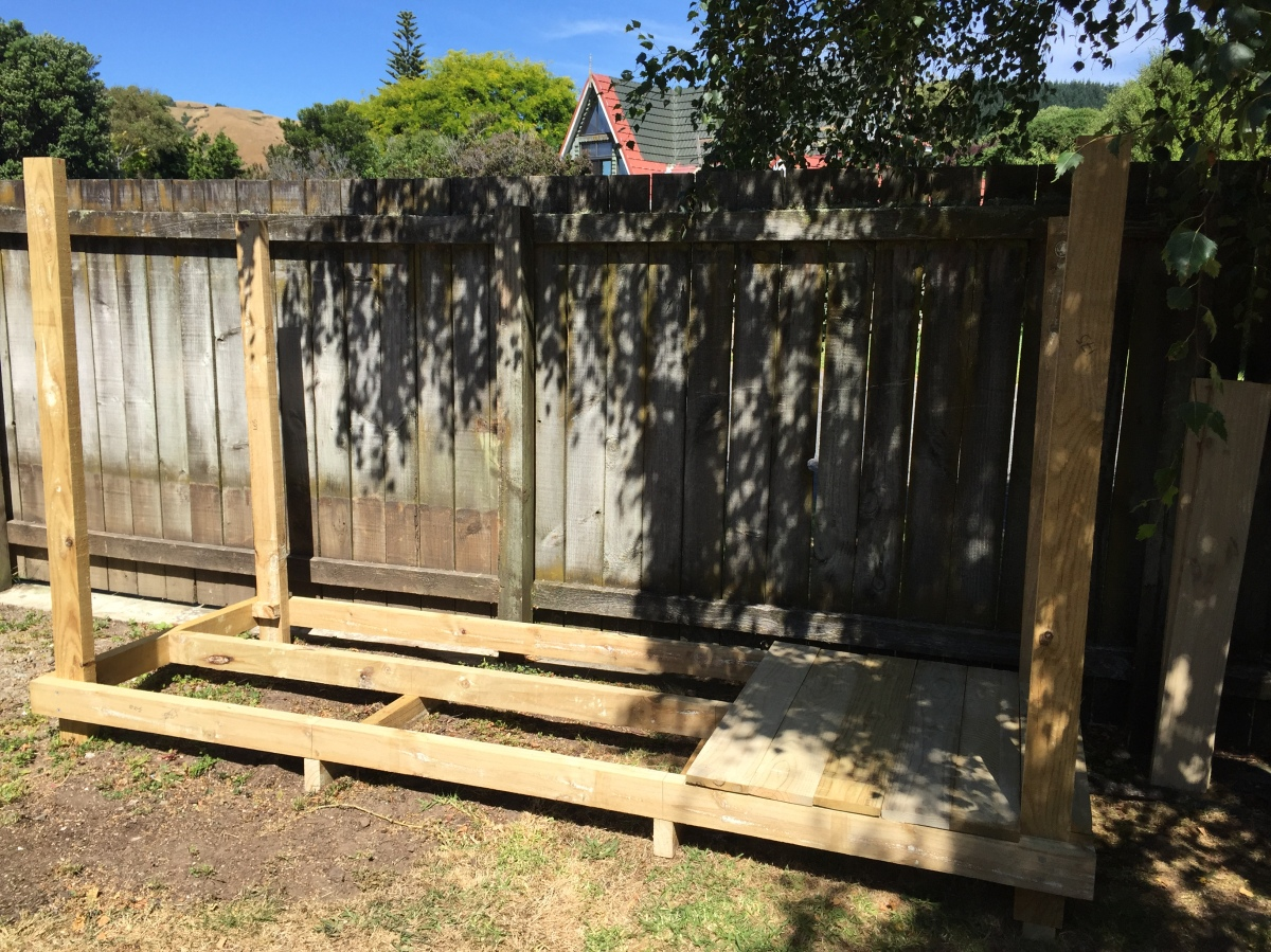Woodshed build part 2 – Getting started