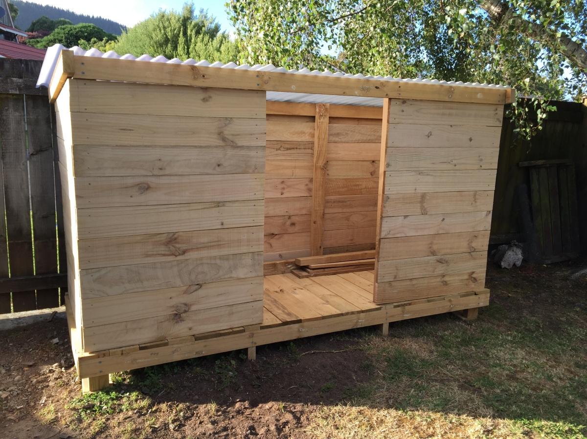 Woodshed build part 3 – thefinish