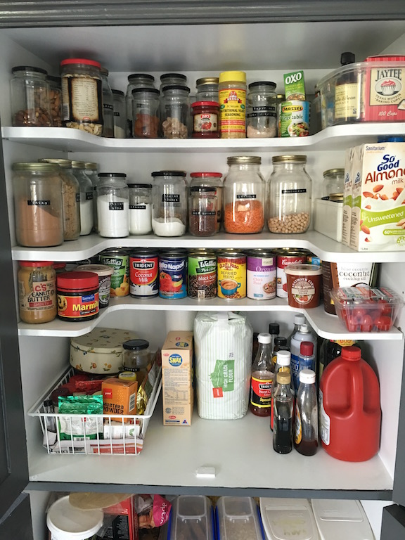 Spring cleaning – the pantry